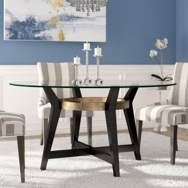 dining table glass top design