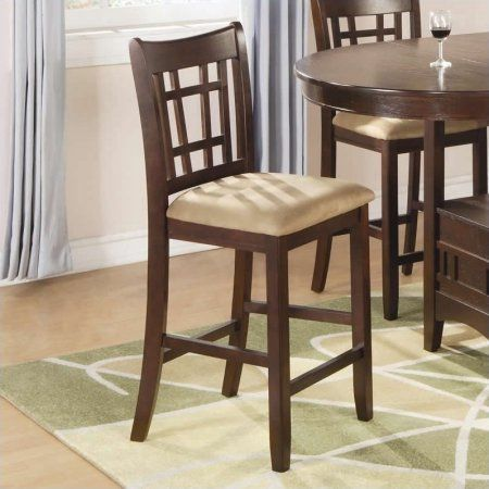 tall dining table with stools