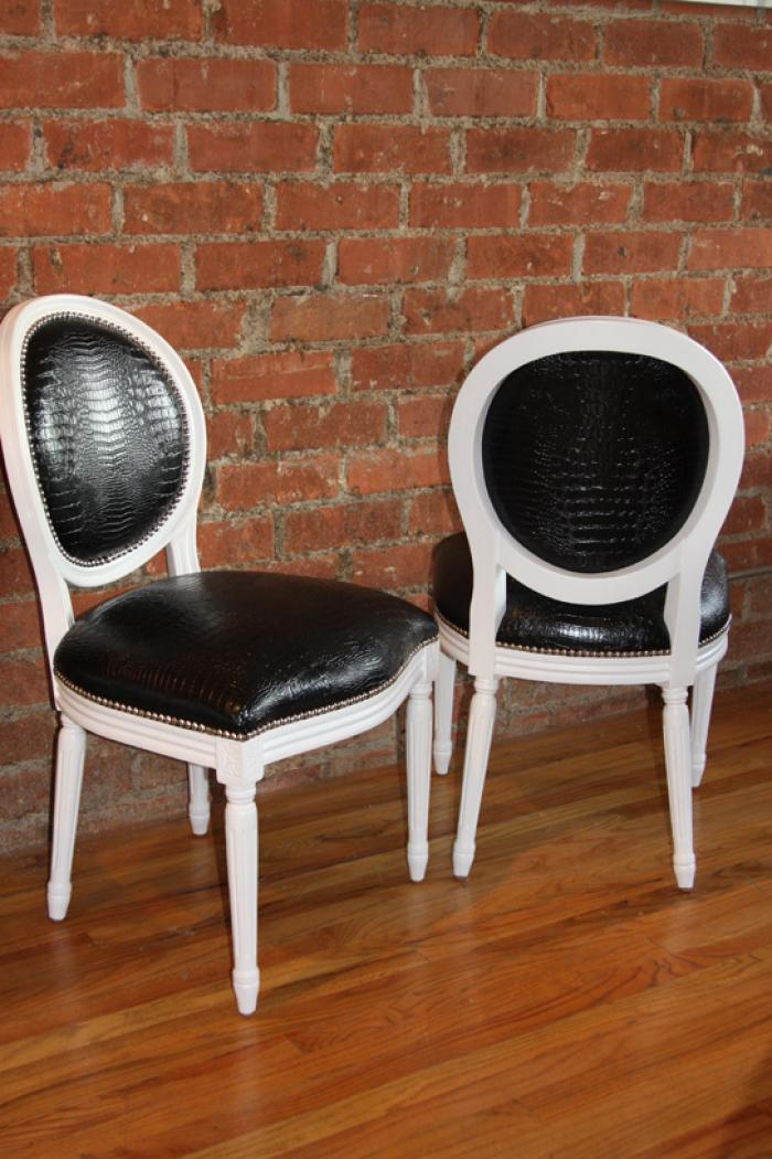 louis style dining chairs