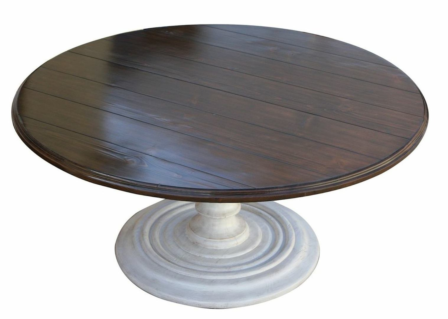 round pedestal dining table for 8