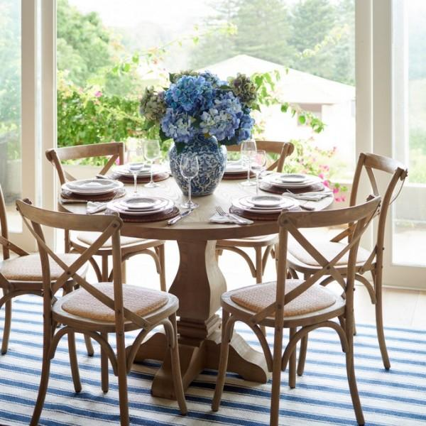 lavender dining room chairs