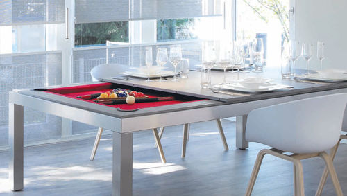 pool table convertible to dining table
