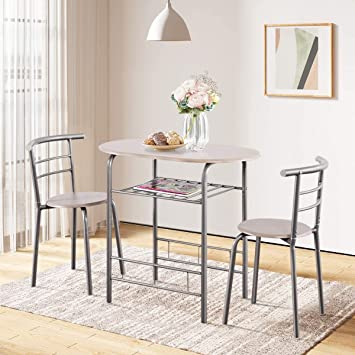 small dining room table with 2 chairs