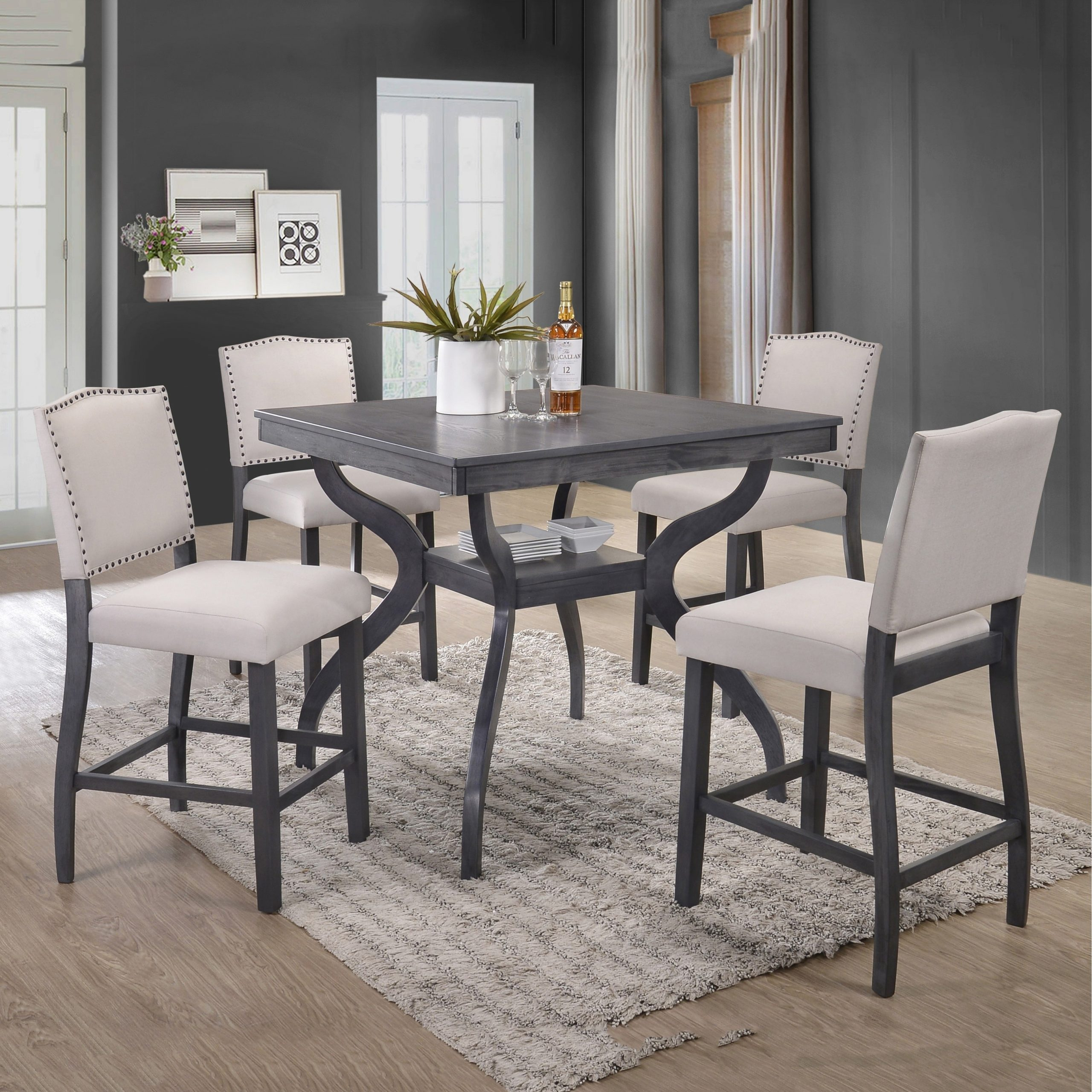 contemporary dining room table sets