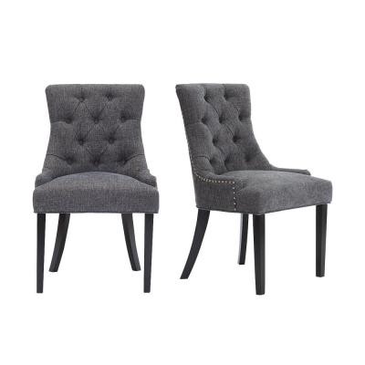 threshold tufted dining chair