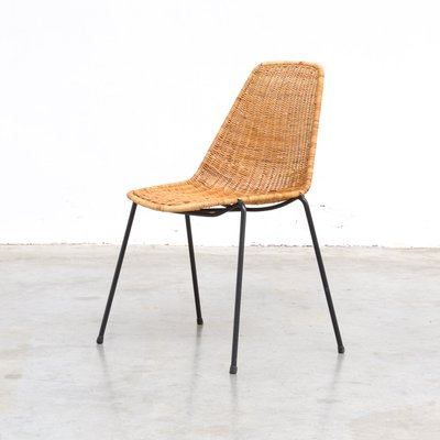 vintage rattan dining chairs
