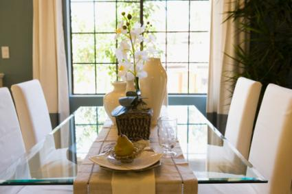 table runners for dining room table