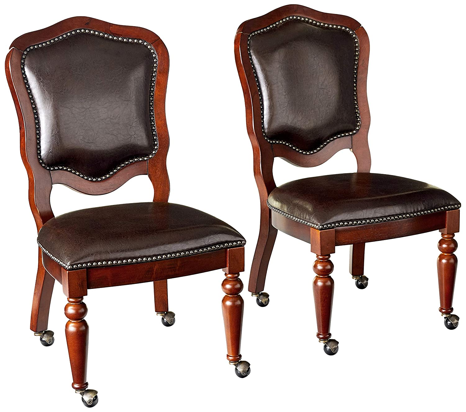 dining room chairs on rollers