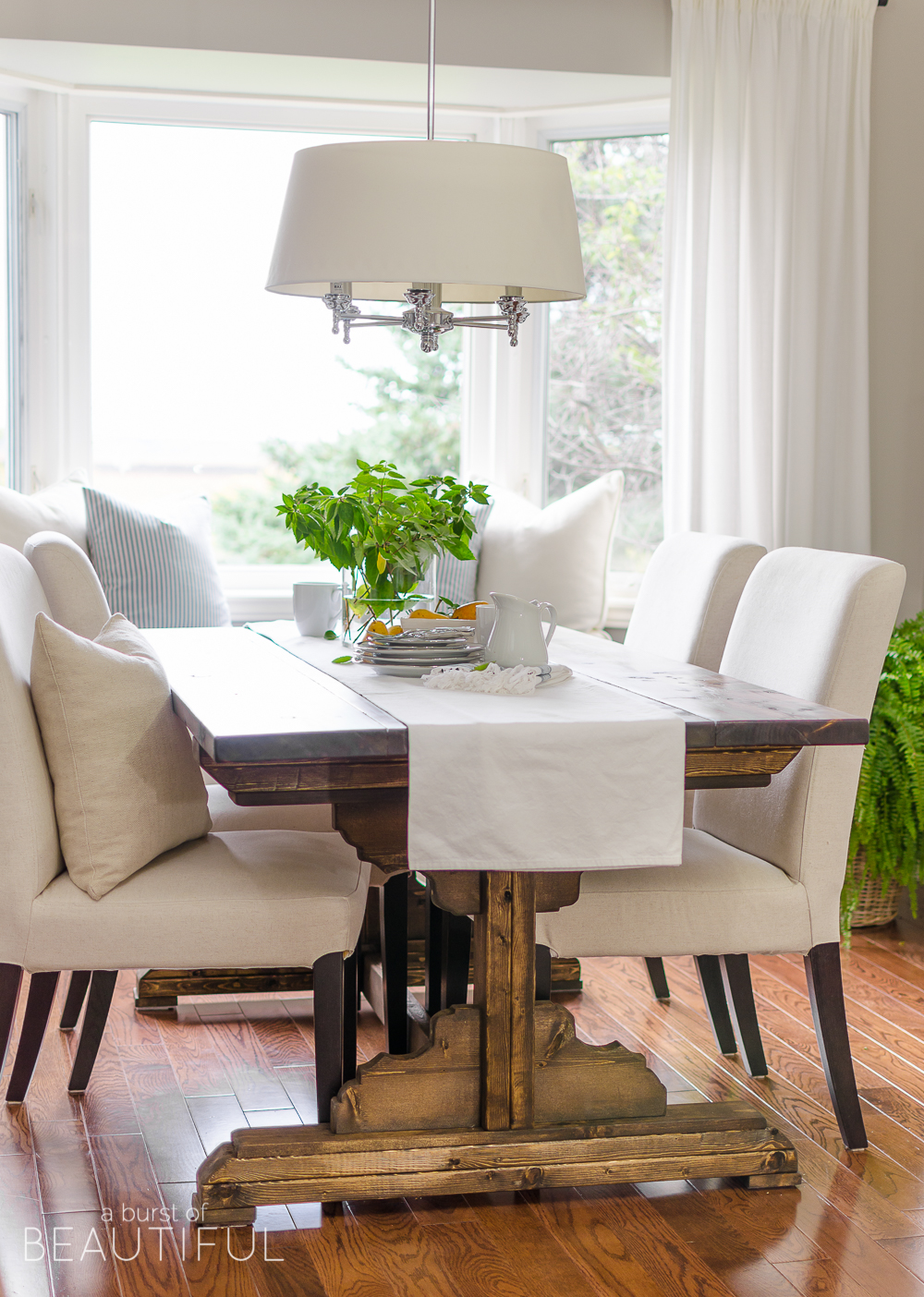 build your own dining table plans