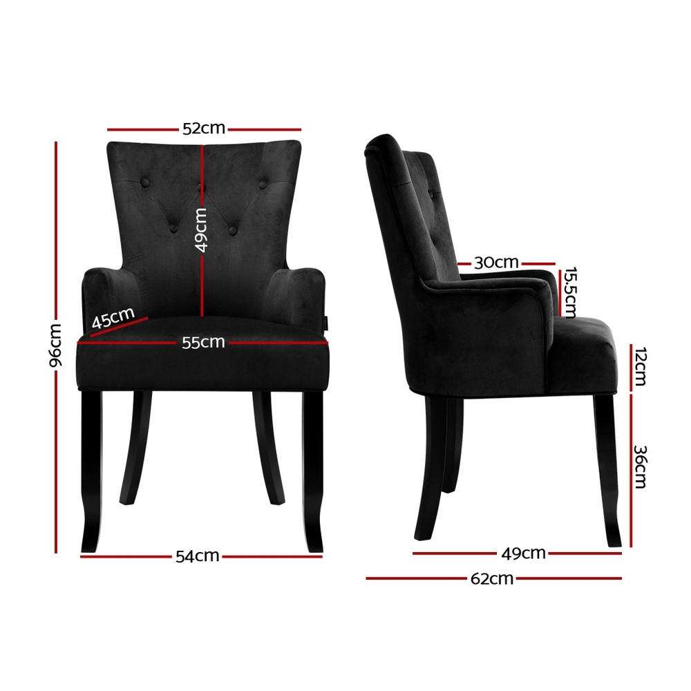 french provincial upholstered dining chairs