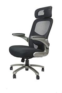 office factor new big and tall black executive office chair