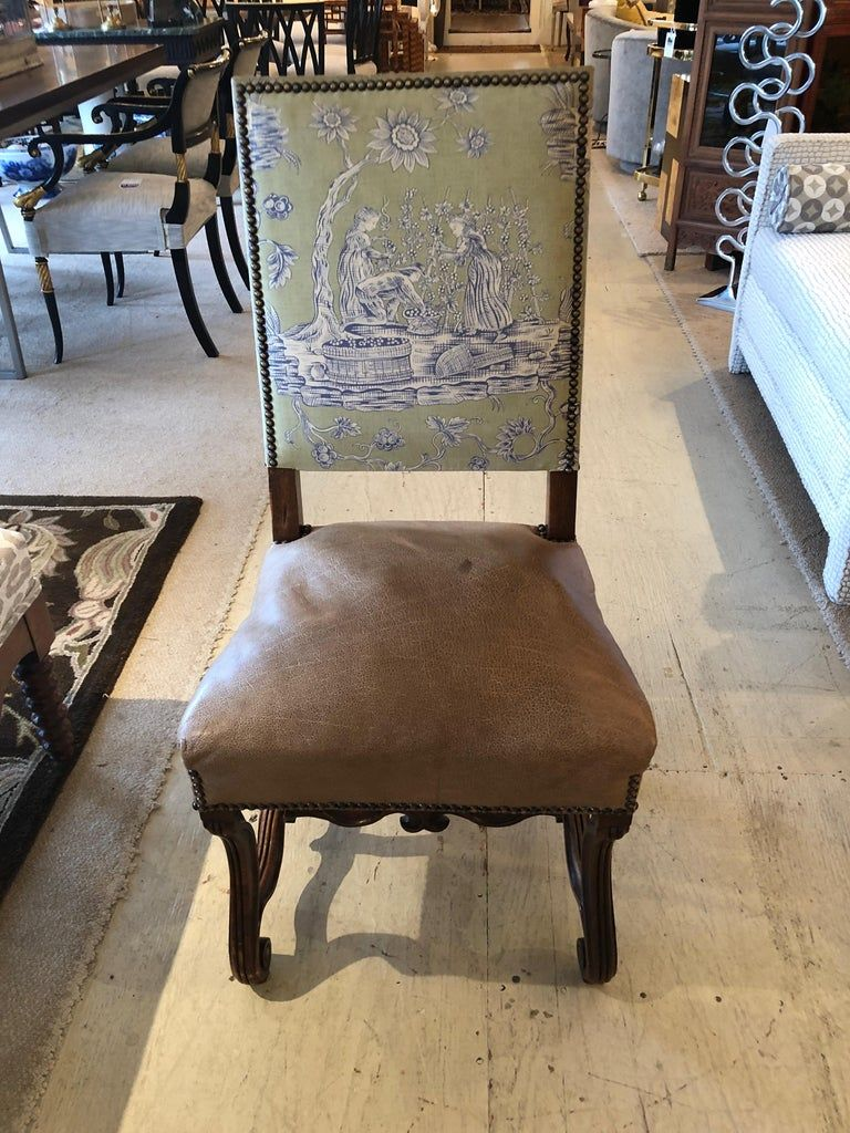 louis xiv dining chairs