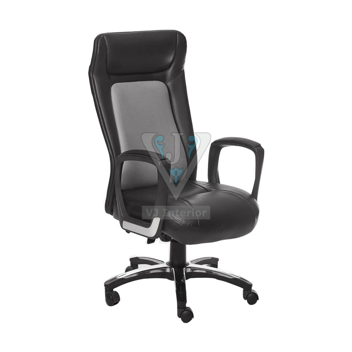 fabric office chair high back