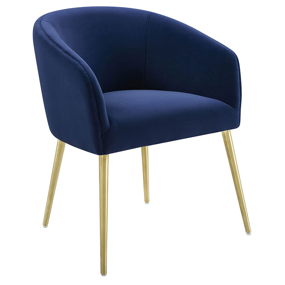 navy blue dining chair