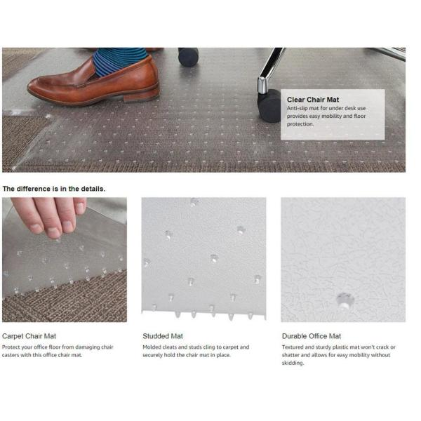 plastic mats for under office chairs
