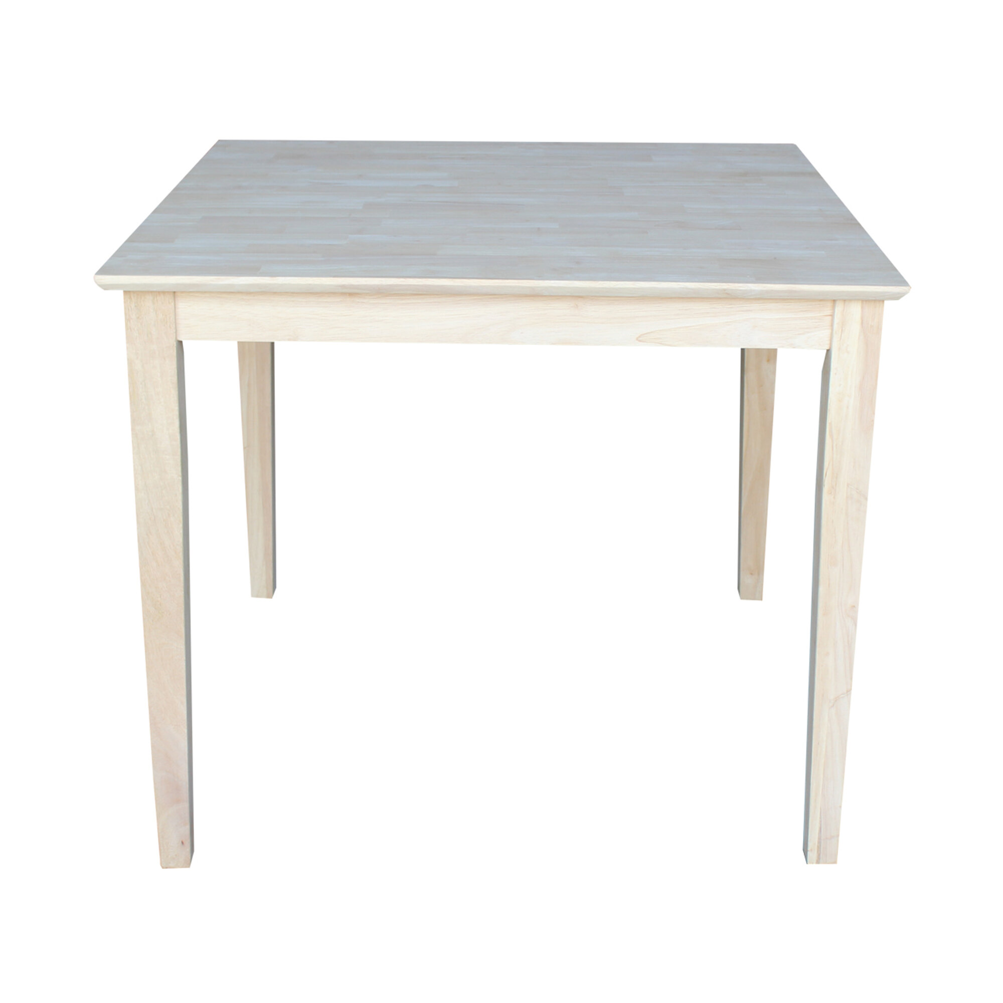 unfinished furniture dining table