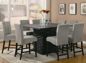 square dining table and chairs set