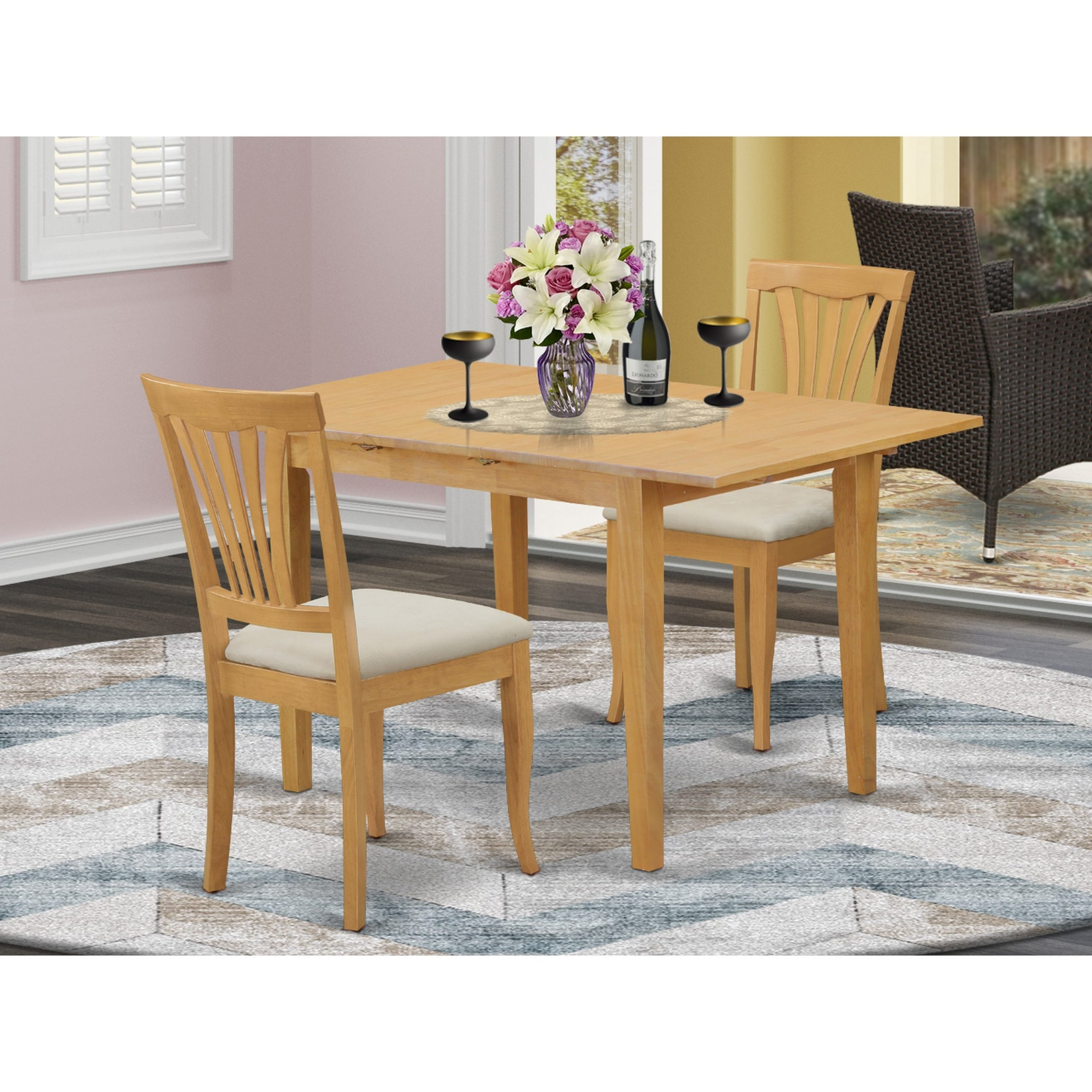 mini dining table and chairs