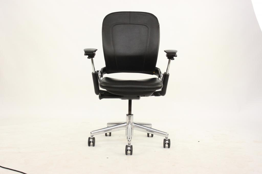 coach leather office chair