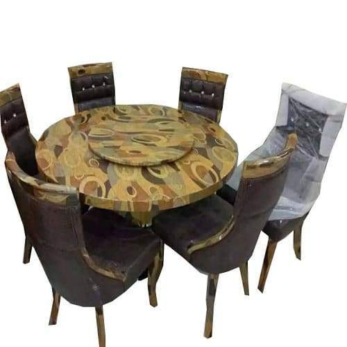 design of dining table and chairs