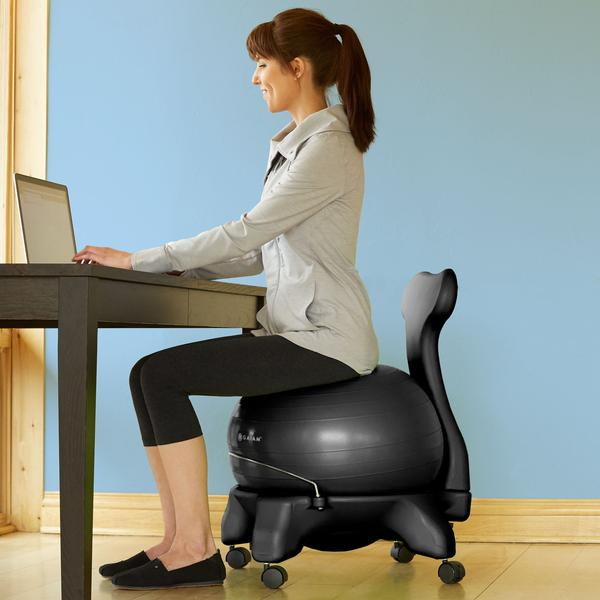 medicine ball for office chair