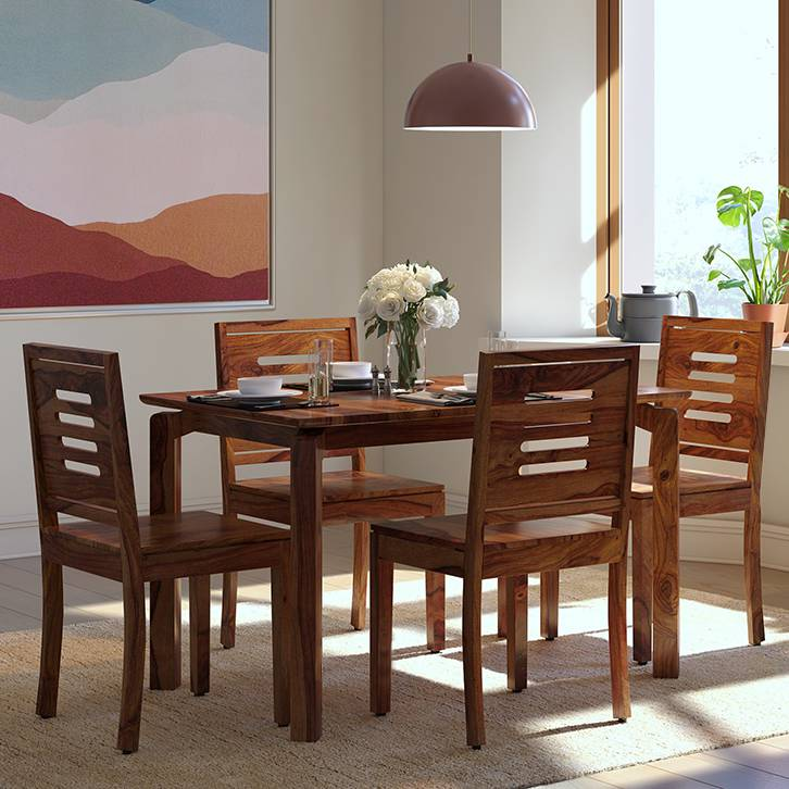 8 seater square dining table design