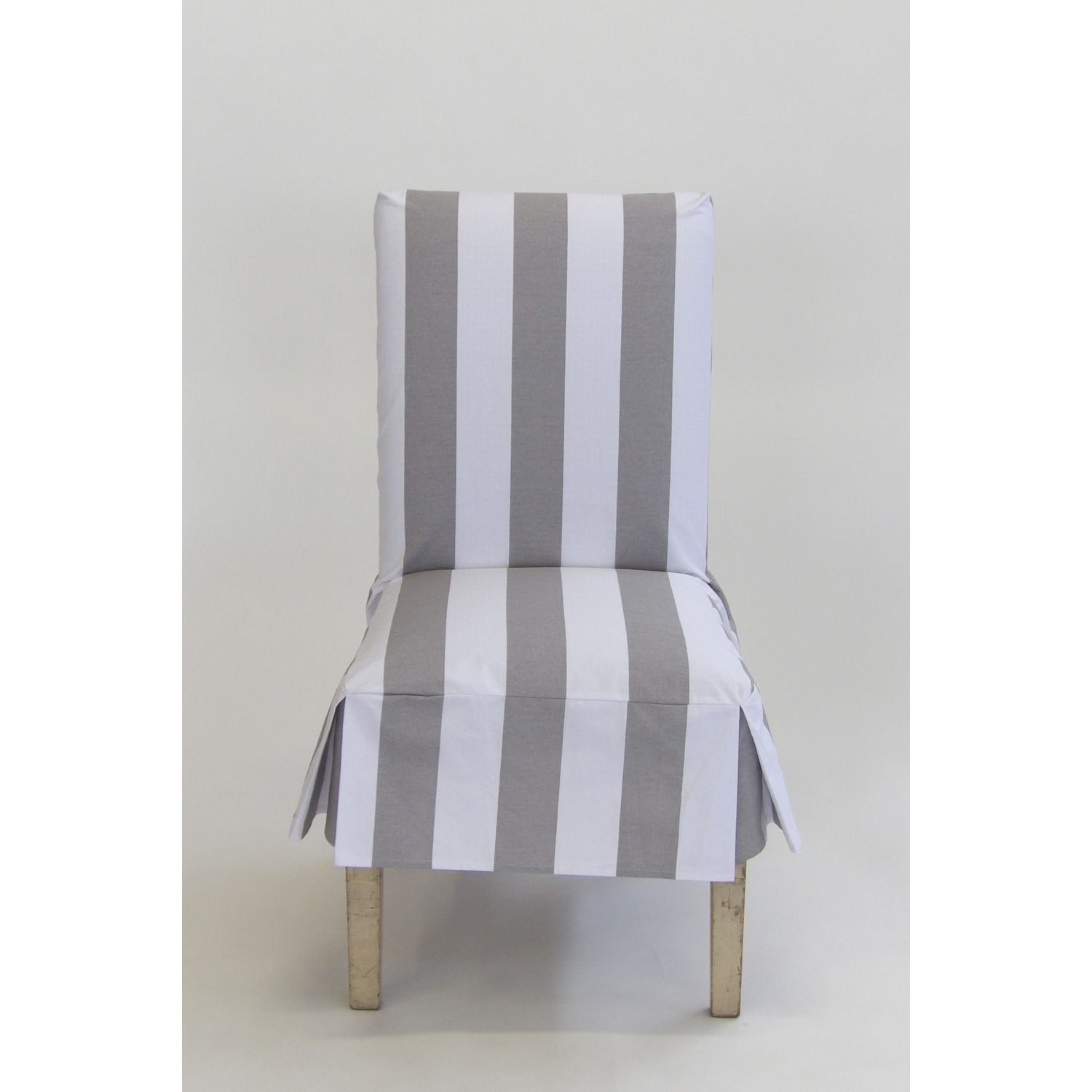 sure fit cotton duck short dining chair slipcover
