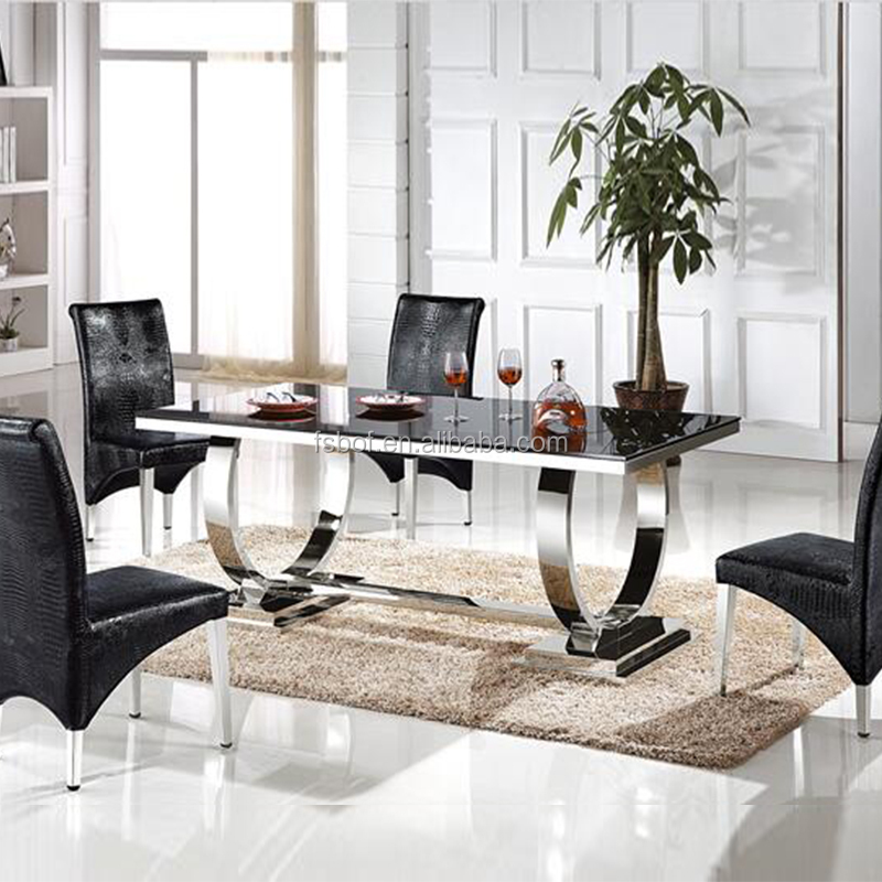 glass top dining table with wrought iron base
