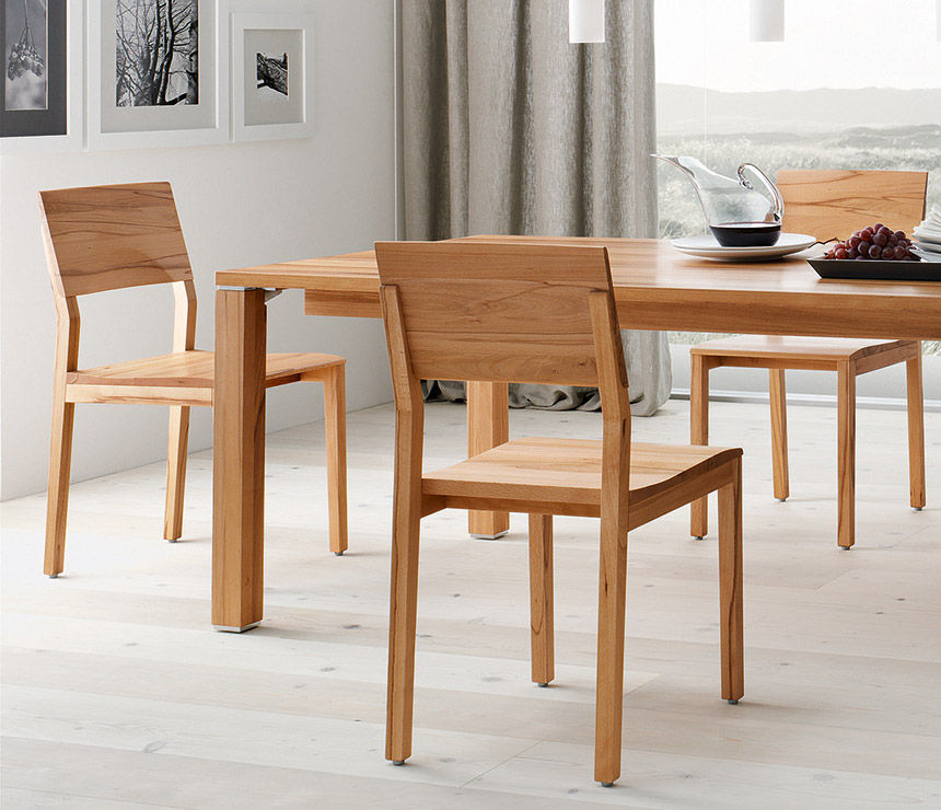 small oak dining chairs