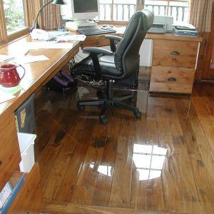 best flooring for rolling office chairs
