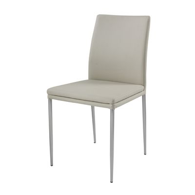 dining chairs stainless steel legs