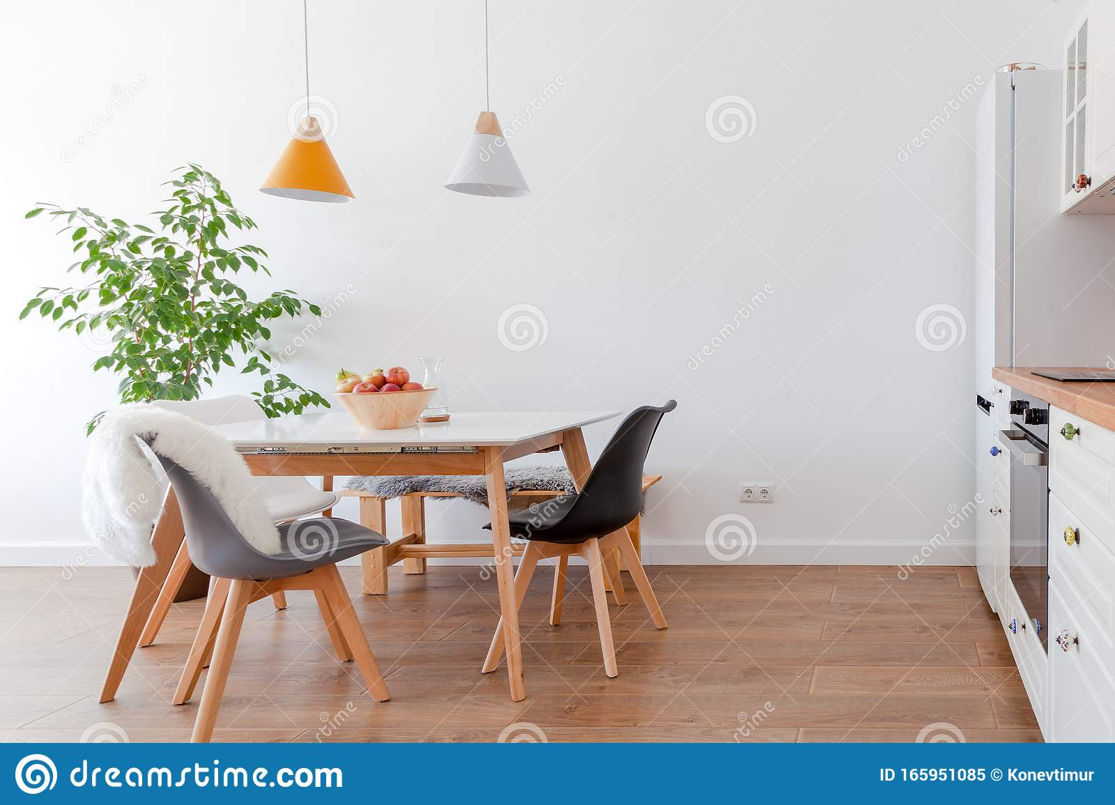 dining room white chairs