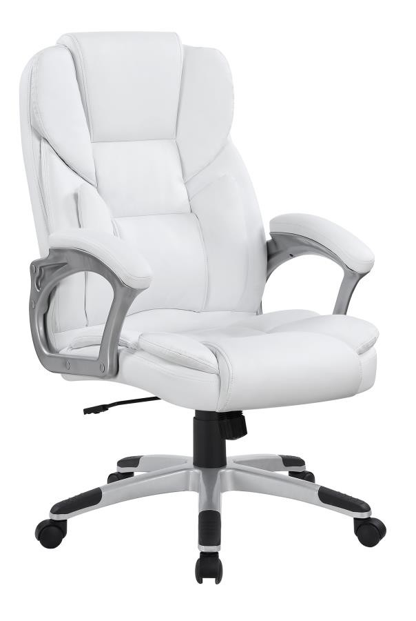 white office desk chairs