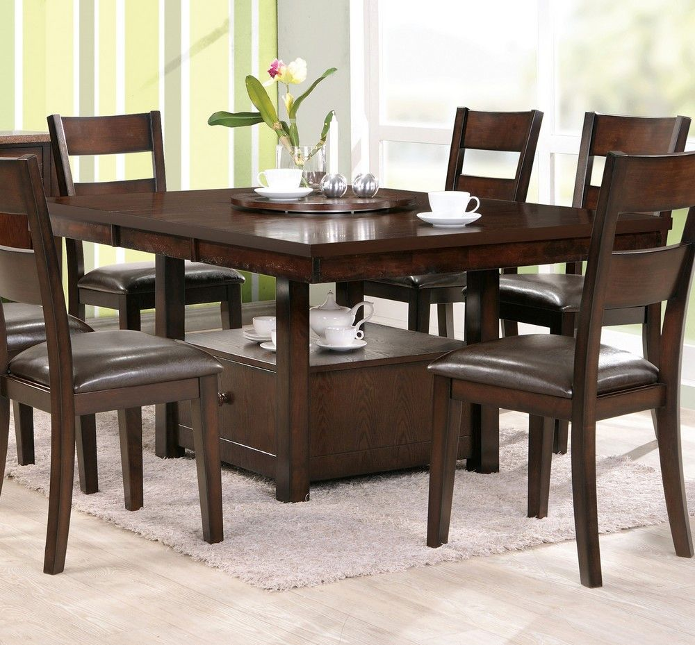 counter height square dining table for 8