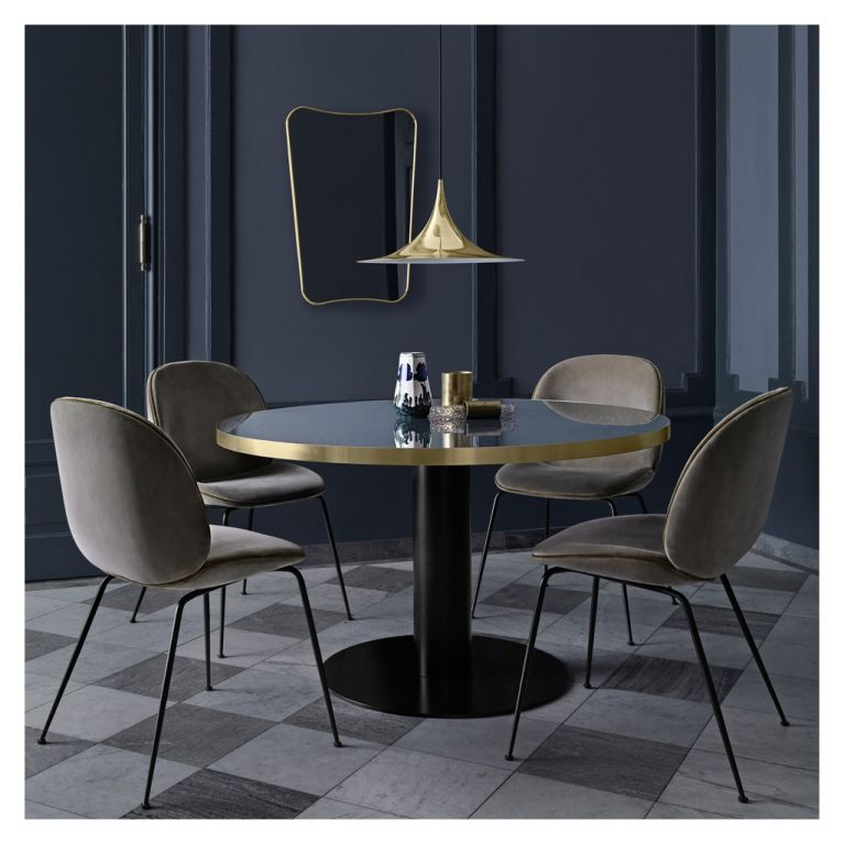 glass small dining table