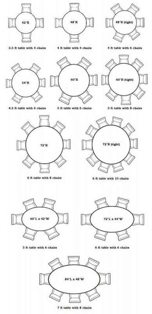 round dining table 12 seater