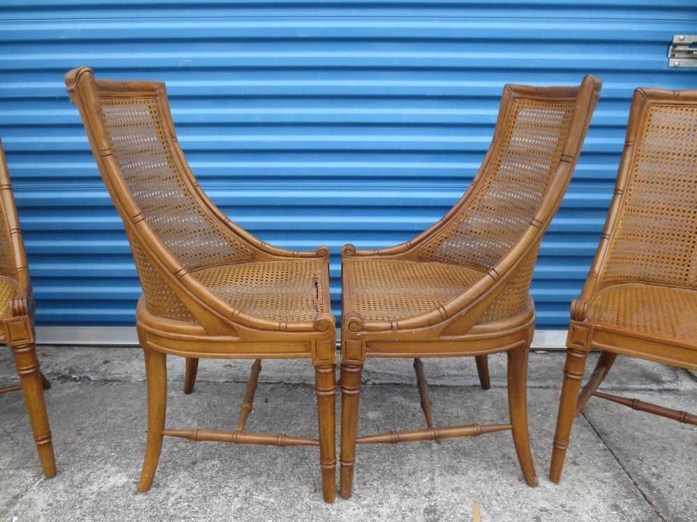 hollywood regency dining chairs