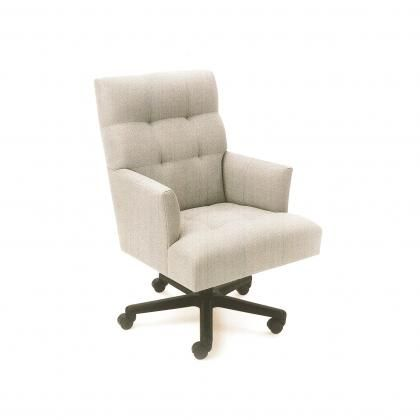 fabric office chair with arms