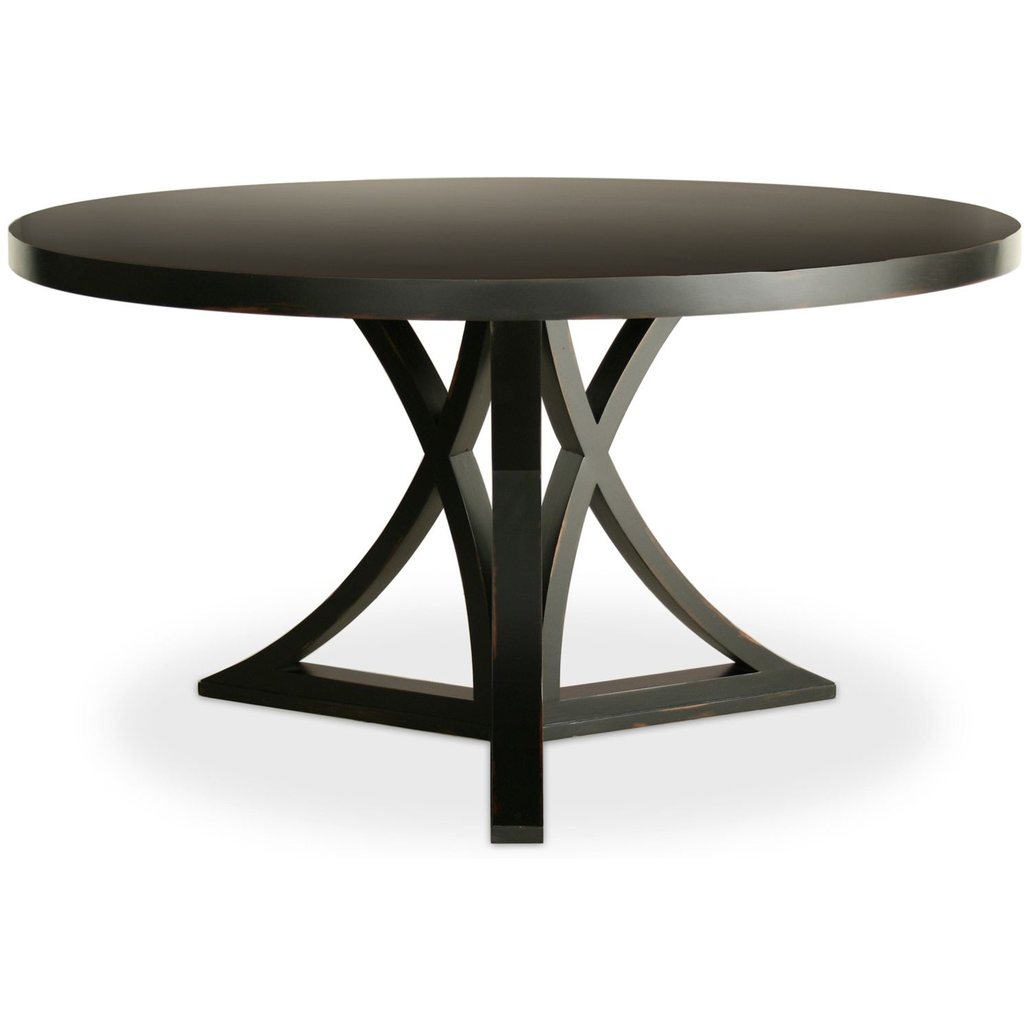 pedestal round dining table with leaf