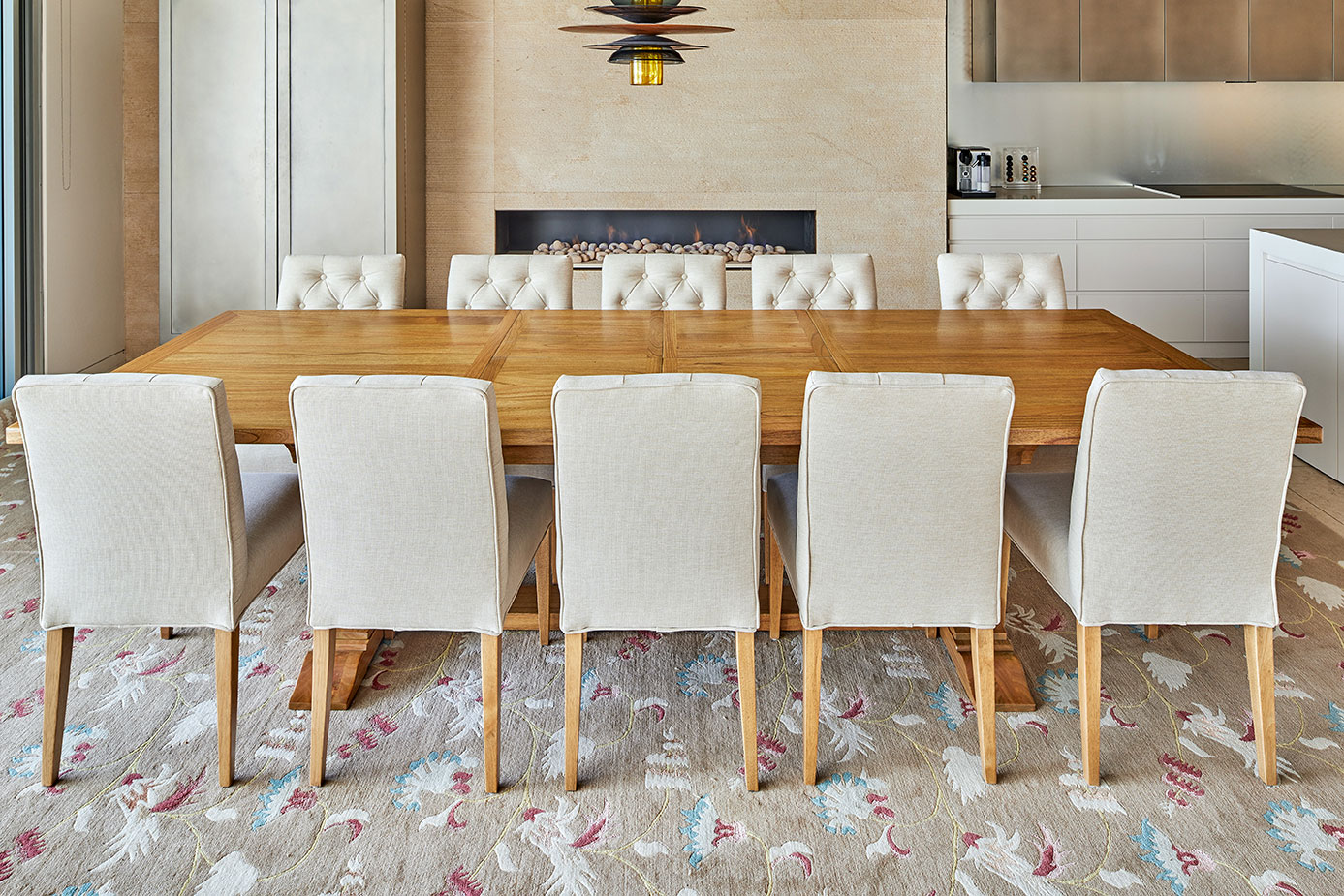 dining table 12 seater size