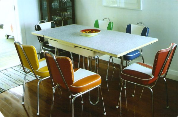 retro formica dining table