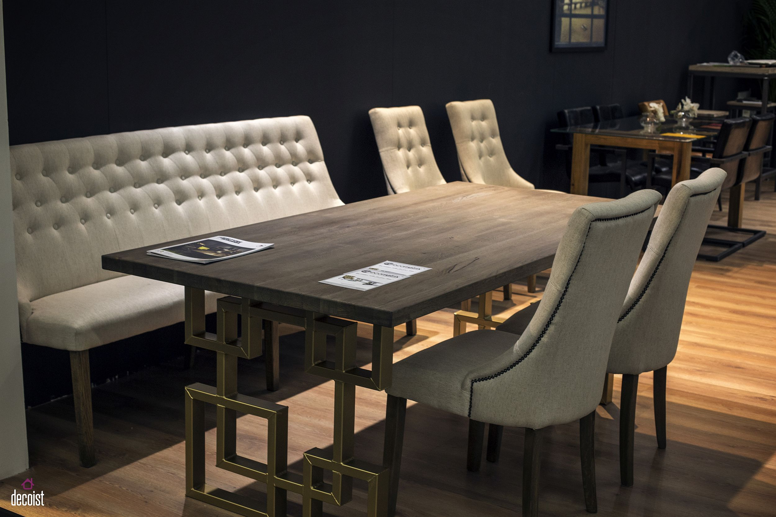 bench seats dining table