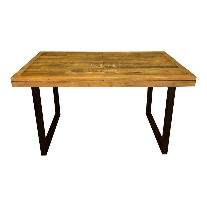 industrial extending dining table