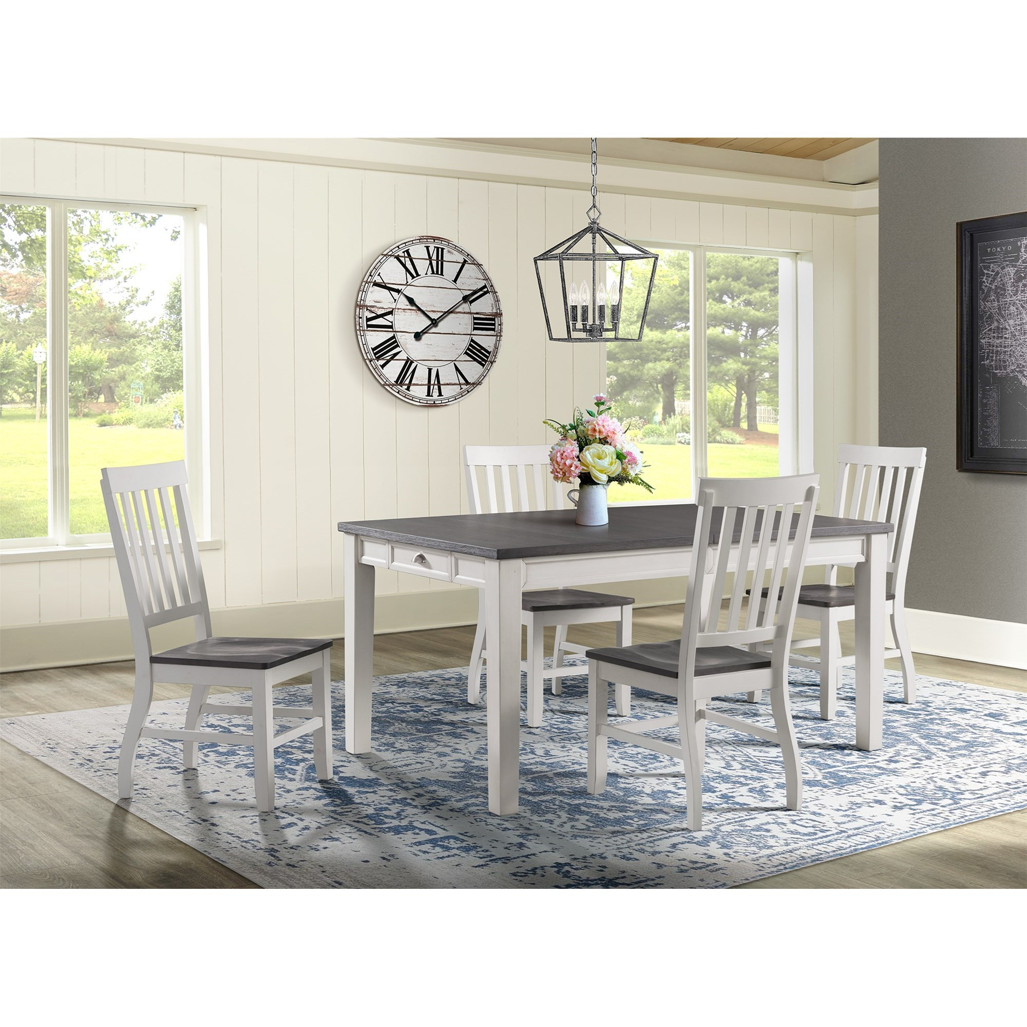 5 chair dining set