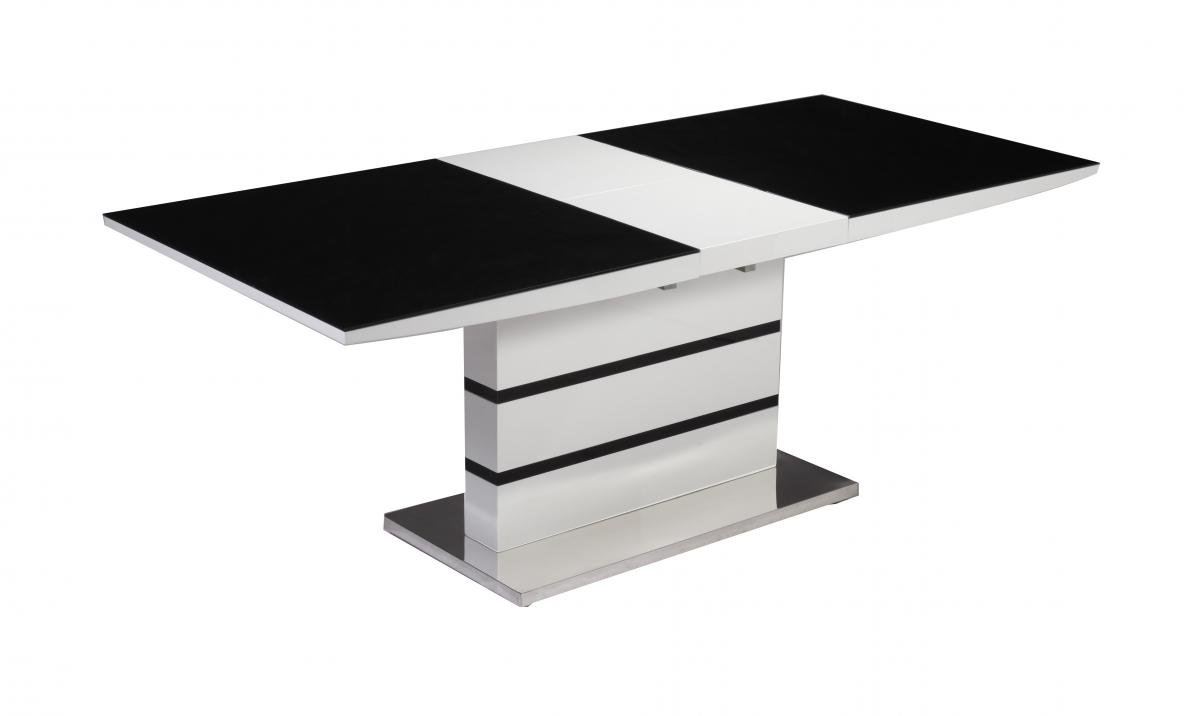 glass top stainless steel dining table frames