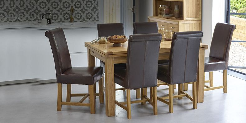 leather dining room chairs for sale