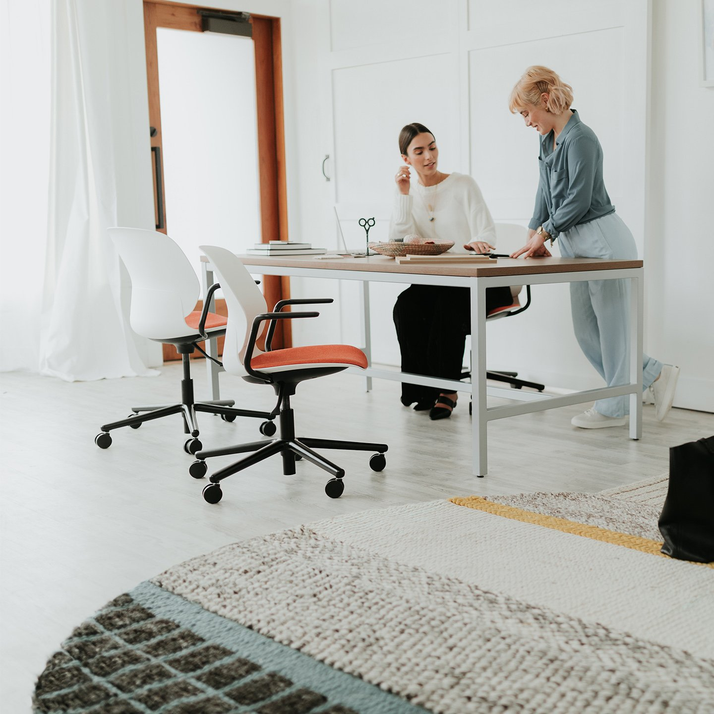 office chair glides for carpet