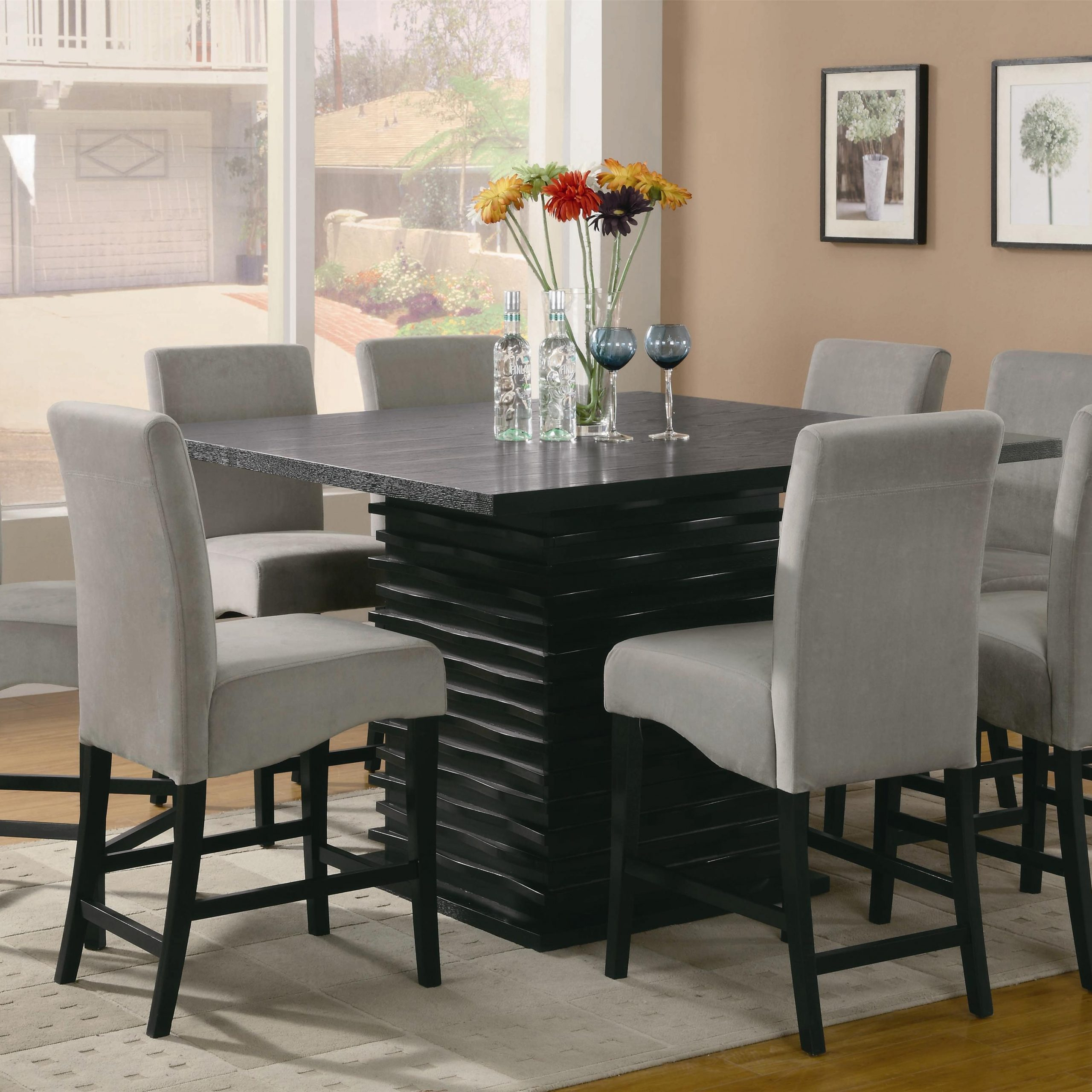 dining set 8 chairs