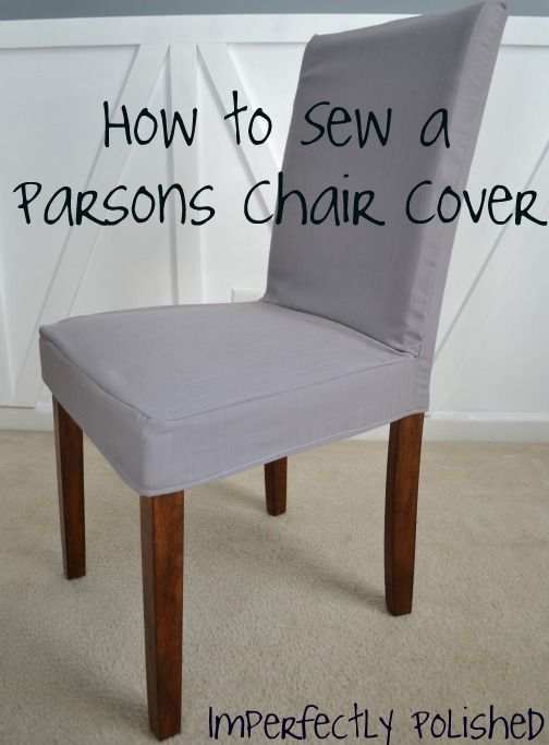 pattern for dining chair covers