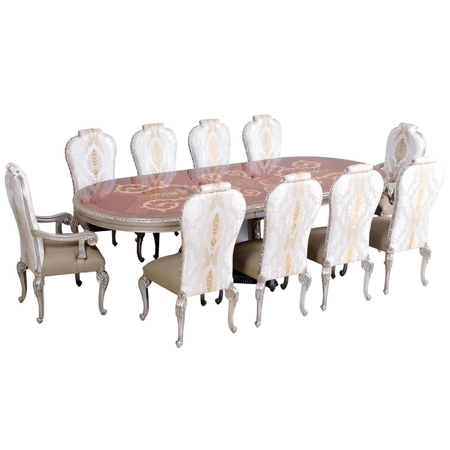 11 piece dining table